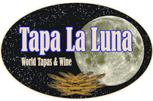 logo for Tapa La Luna restaurant
